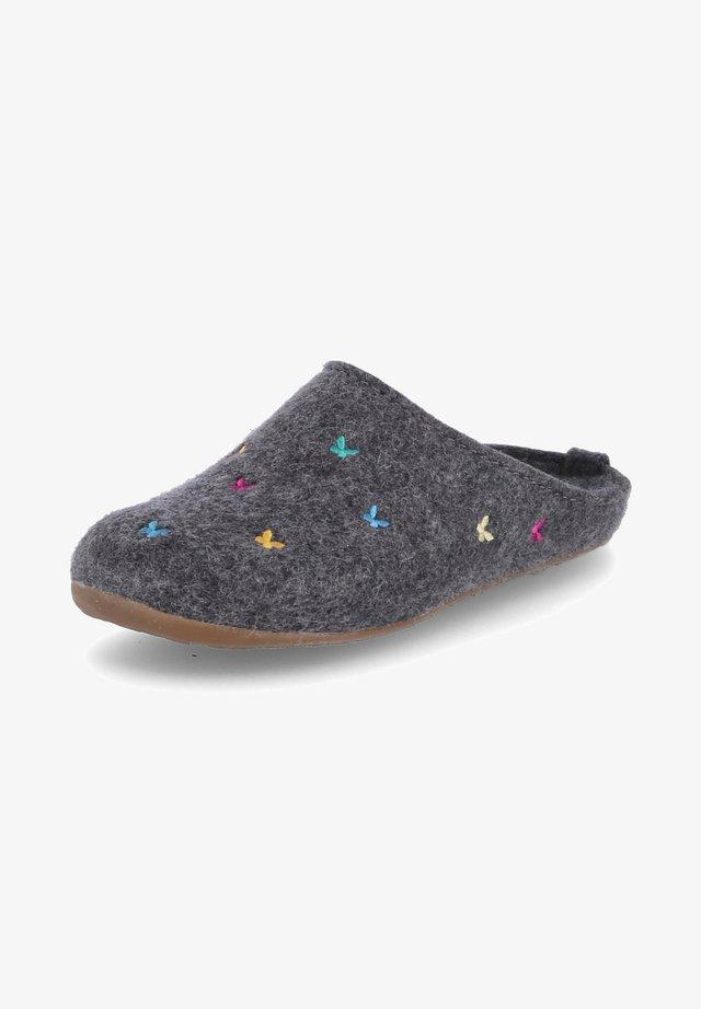 EVEREST FARFALLINE - Slippers - grau