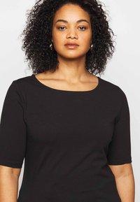 Anna Field Curvy - T-shirts - black - 5