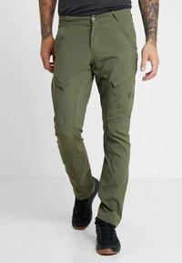 Mammut - ZINAL PANTS MEN - Pantalones montañeros largos - iguana - 0