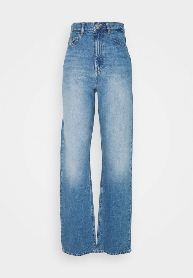 ECHO - Jean bootcut - empress blue