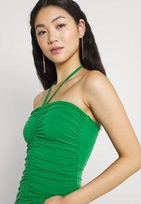Gina Tricot - FLORENS SINGLET - Top - medium green - 3