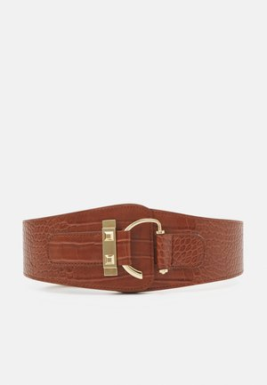 PCAMIRA WAIST BELT - Tailleriem - tan/gold-coloured
