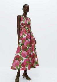 Uterqüe - Day dress - pink - 1