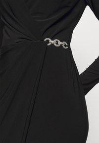 Lauren Ralph Lauren - CLASSIC DRESS - Jerseyjurk - black - 5