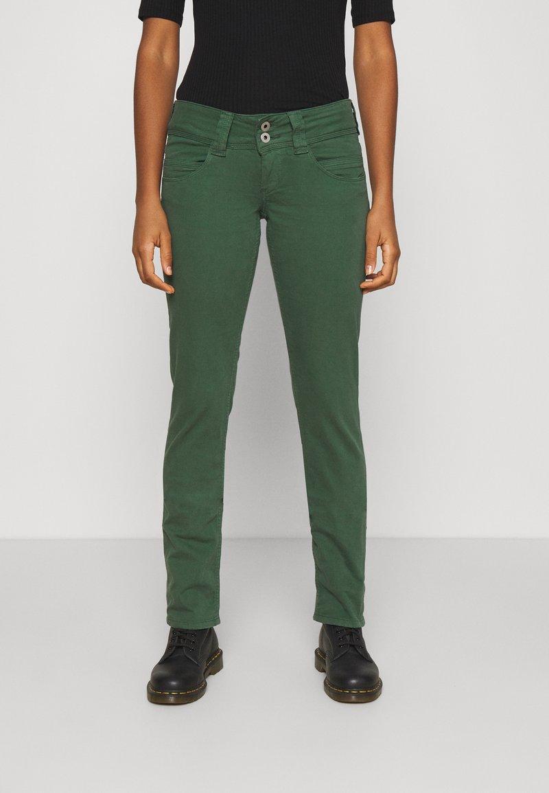 Pepe Jeans - VENUS - Trousers - bottle green