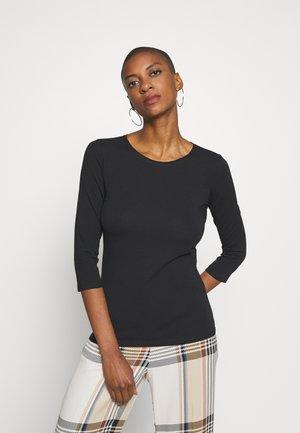 MULTIA - Long sleeved top - black