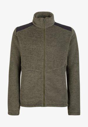Fleece jacket - iguana melange