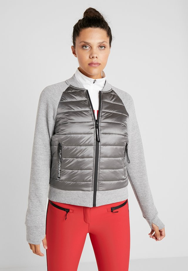 CORE GYM TECH HYBRID - Chaqueta outdoor - shadow marl