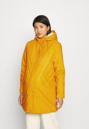 OLMSALLY RAINCOAT - Winter coat - yellow