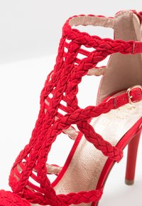 Bullboxer - High heeled sandals - light red - 2