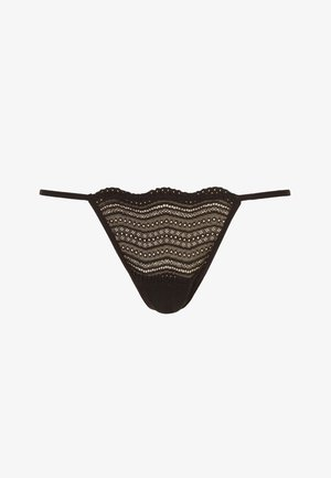 DOLCE - Thong - black/nude