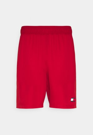 LOGO FLAG SHORT - Pantaloncini sportivi - red