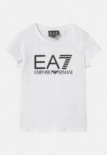 EA7  - Print T-shirt - white