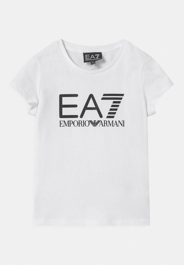 EA7  - T-shirt print - white