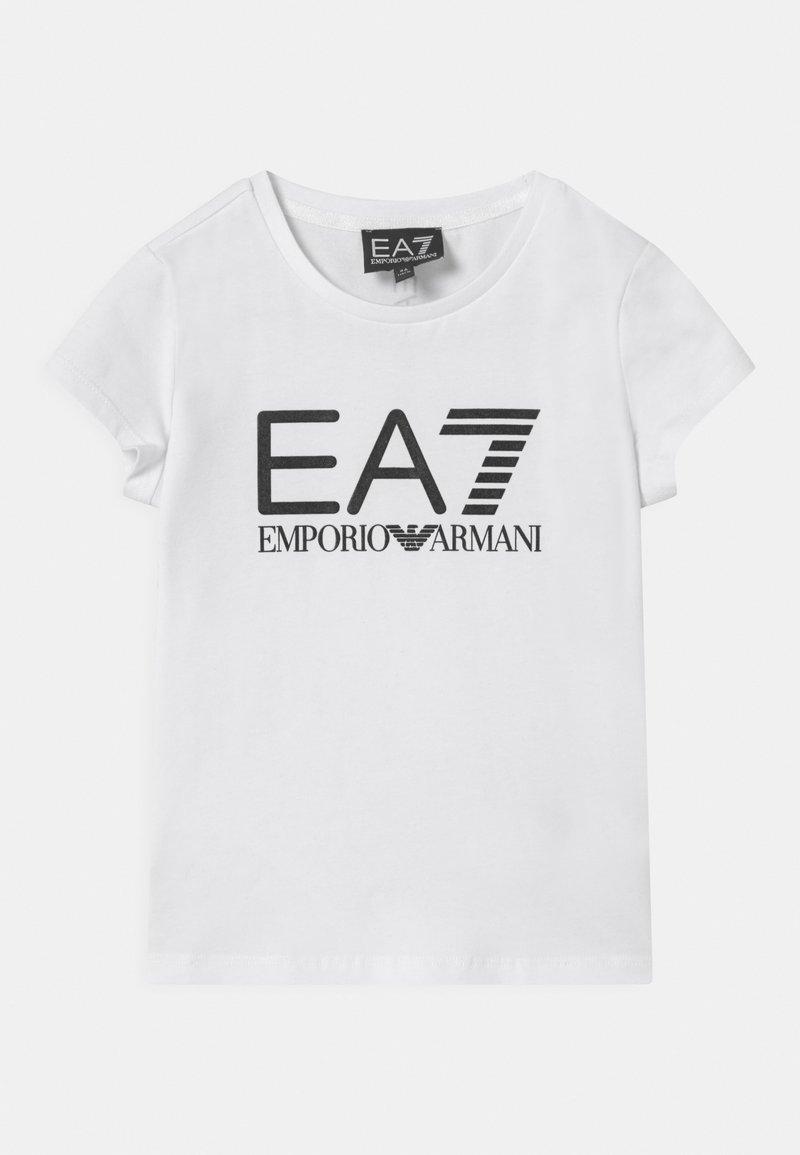 Emporio Armani - EA7  - Print T-shirt - white