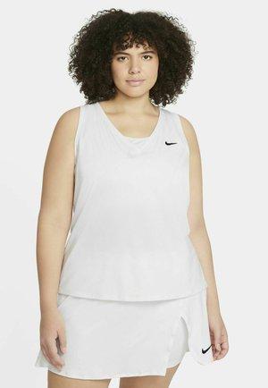 VICTORY TANK PLUS - Sports shirt - white