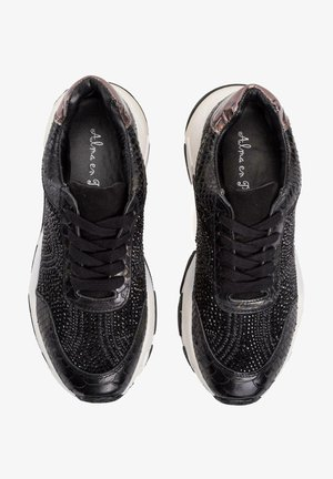 TILO - Sneakers laag - black