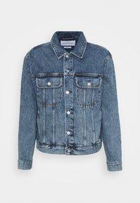 Calvin Klein Jeans - REGULAR JACKET - Veste en jean - denim dark - 0