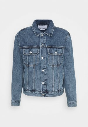 REGULAR JACKET - Denim jacket - denim dark