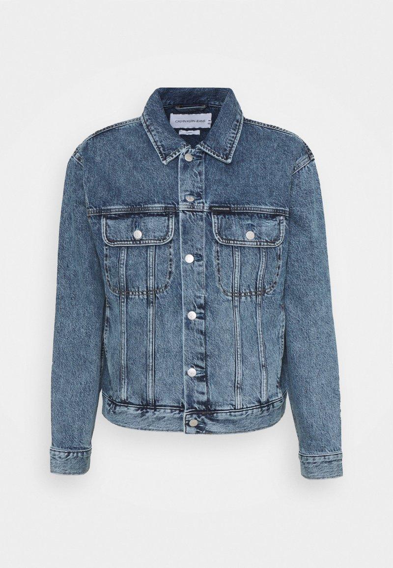 Calvin Klein Jeans - REGULAR JACKET - Veste en jean - denim dark