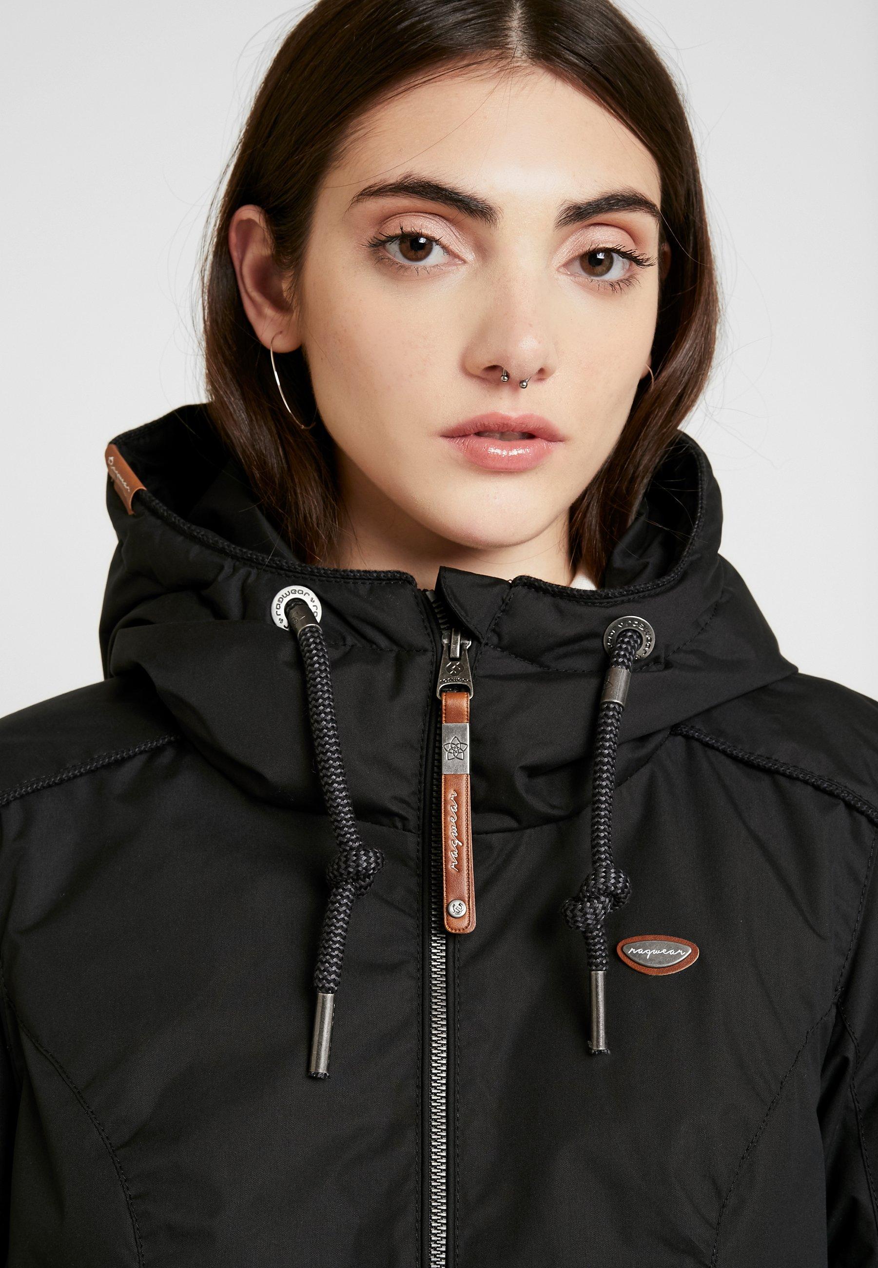 Ragwear DANKA - Kort kåpe / frakk - black