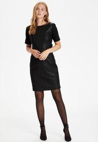 Culture - CULTURE CUALINA  - Shift dress - black - 1