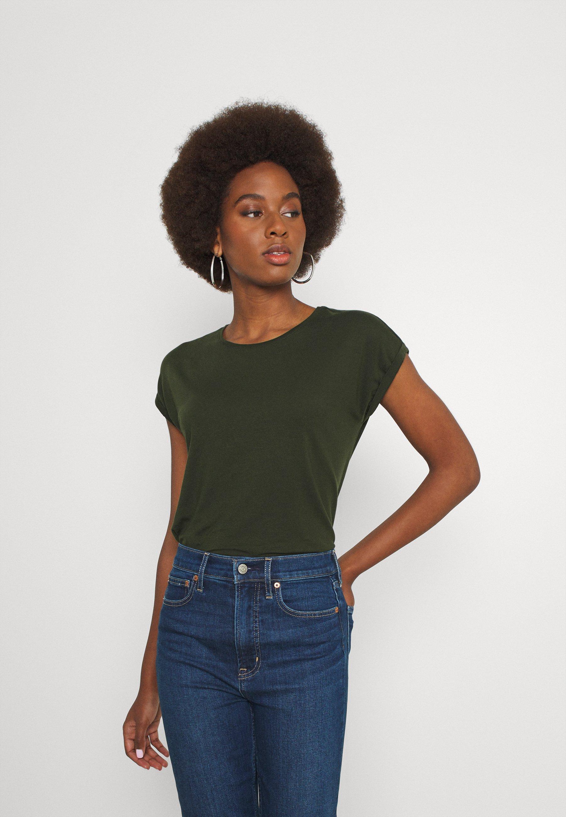 Damen VMAVA PLAIN - T-Shirt basic