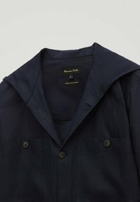 Massimo Dutti - Summer jacket - blue-black denim - 2