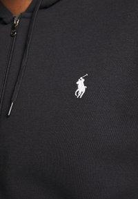 Polo Ralph Lauren Big & Tall - DOUBLE TECH HOOD - Zip-up sweatshirt - black - 5