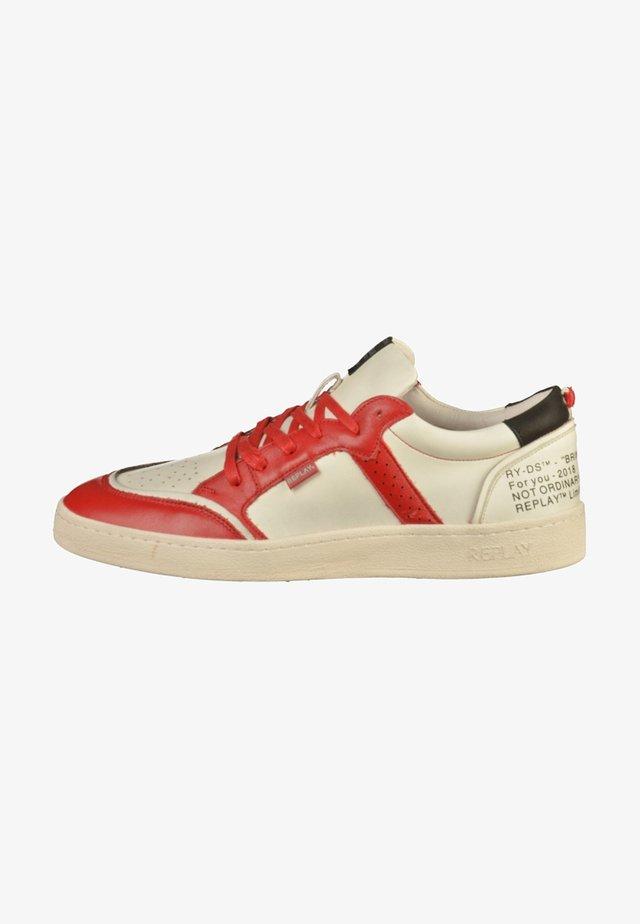 Sneakersy niskie - whit/red