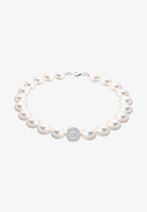 GLASS CRYSTAL   - Bracelet - white-coloured