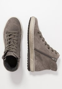 Gabor - High-top trainers - wallaby - 3