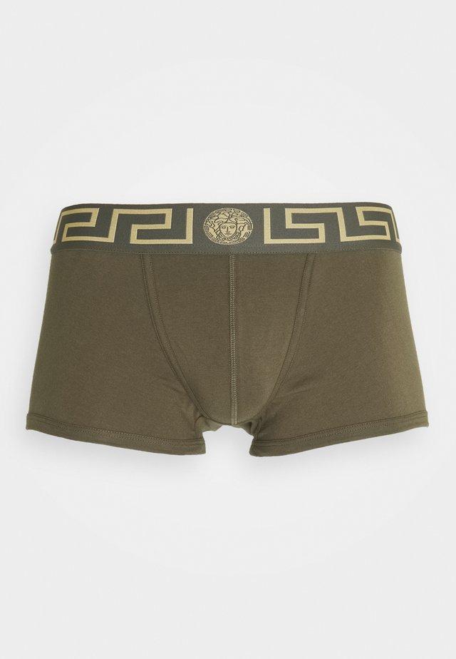 Boxerky - verde militare-oro