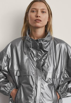 Waterproof jacket - grey