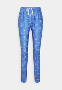 Loungeable - STAR CROPPED LONG SLEEVE WITH LEGGINGS - Pyjamas - blue - 3
