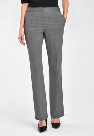 Trousers - metallic grey