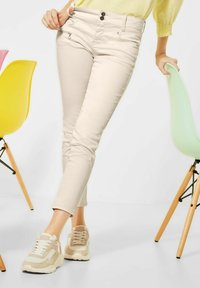 Street One - CASUAL FIT  - Trousers - beige - 0