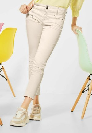 CASUAL FIT  - Trousers - beige