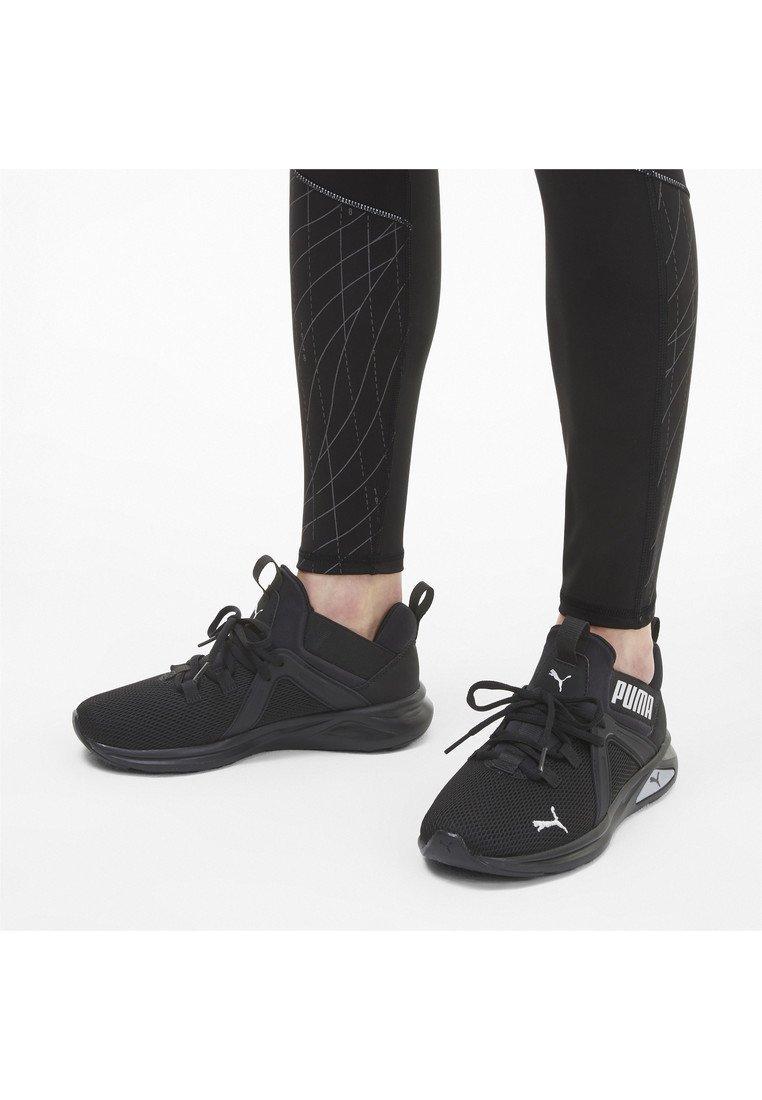 Puma - ENZO  - Chaussures de running neutres - black-metallic silver