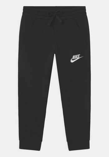 PLUS CLUB - Pantalones deportivos - black