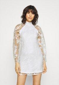 Gina Tricot - YLVA DRESS - Cocktail dress / Party dress - white - 0