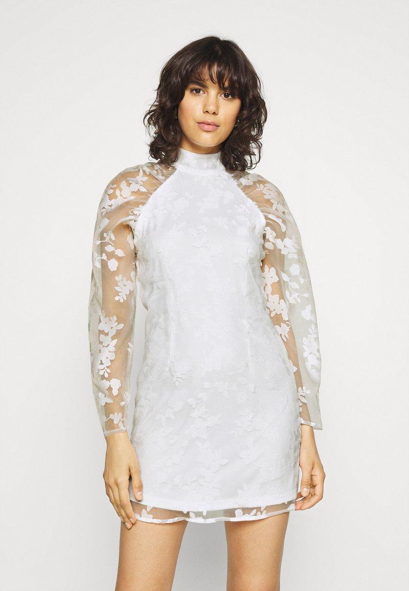 Gina Tricot - YLVA DRESS - Cocktail dress / Party dress - white
