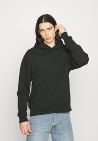 adidas Originals - BASICS HOODIE UNISEX - Sweatshirt - black - 0