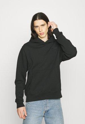 BASICS HOODIE UNISEX - Sweatshirt - black