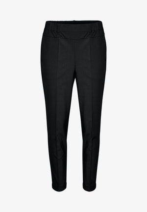 NANCI JILLIAN - Trousers - black deep
