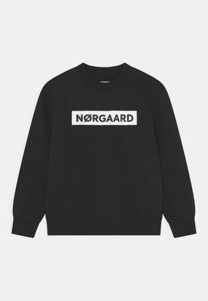 ORGANIC SOLO UNISEX - Sweatshirt - black