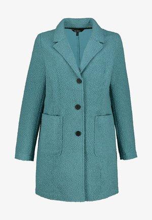 Classic coat - helles graugrün