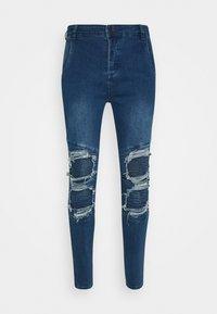 SIKSILK - BIKER - Skinny džíny - blue - 3