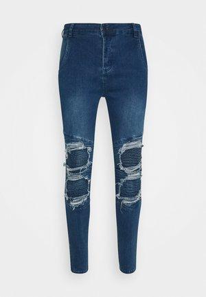 BIKER - Skinny džíny - blue