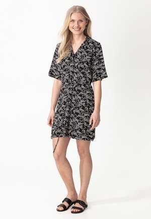 TUNIC AASHI - Day dress - black